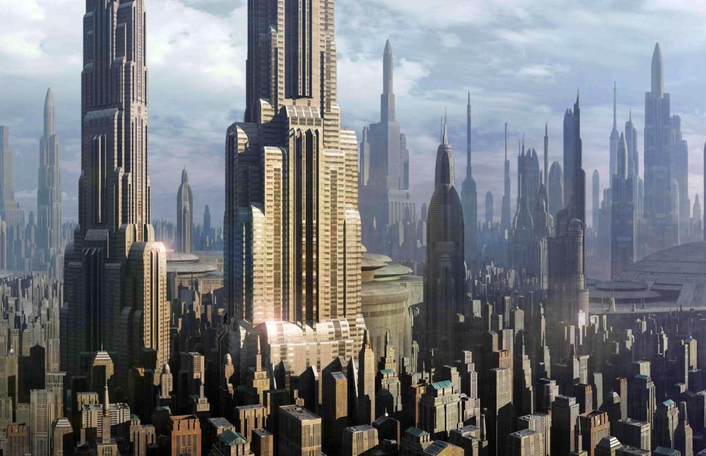 Coruscant_skyscrapers